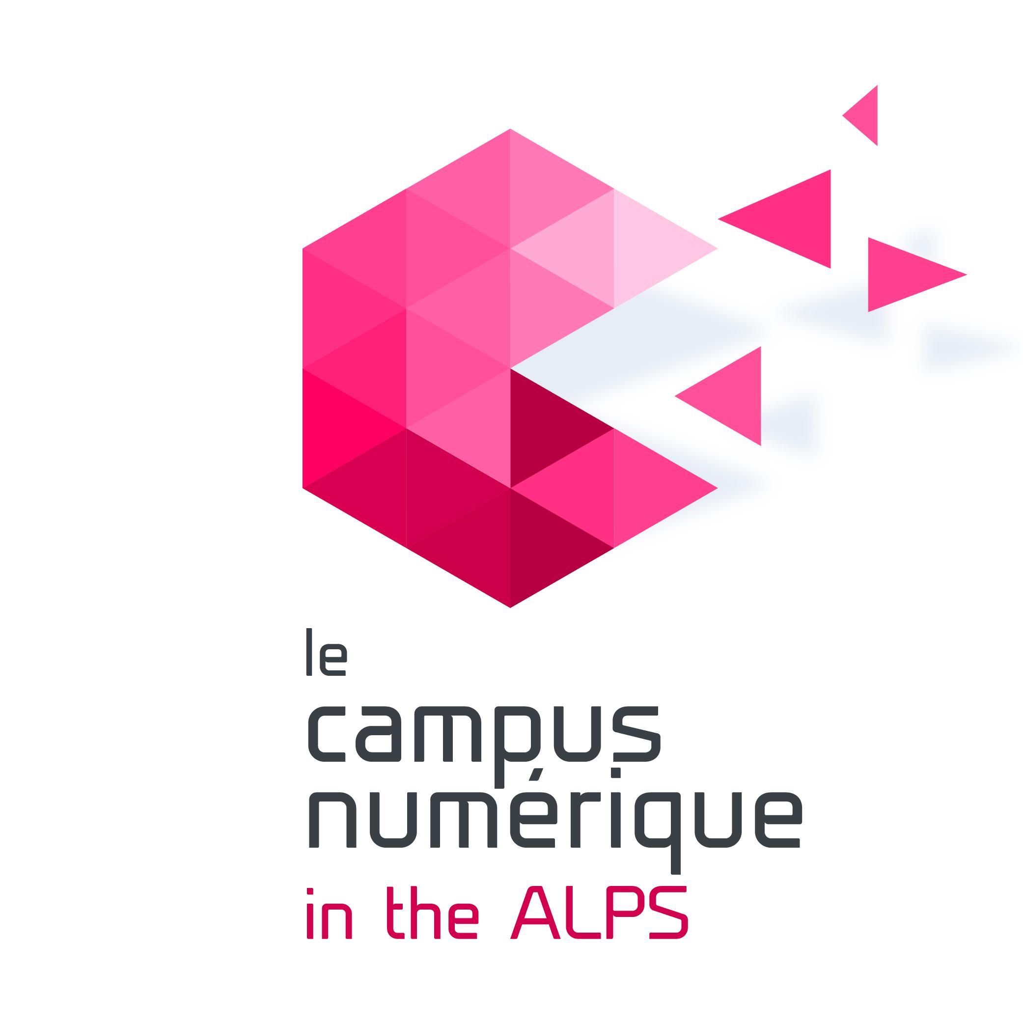 logo Campus numérique in the Alps