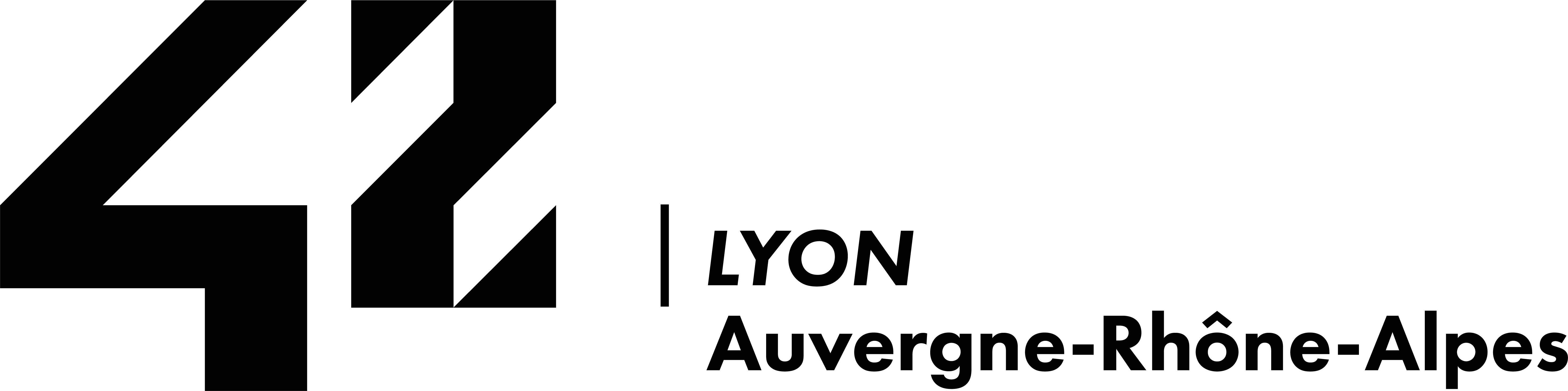 Logo noir 42 Lyon